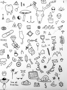 Things To Do On Valentines Day For Your Boyfriend. Much Love Preeti Shenoy Doodle Art Doodle Art, Doodle Icon, Doodle Drawings, Easy Drawings, Pencil Drawings, Kritzelei Tattoo, Doodle Tattoo, Bild Tattoos, Cute Tattoos