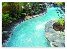 Lazy River Pool Residential | The Lazy River
