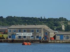 Acorn Ship yard from Canal road Strood [shared]