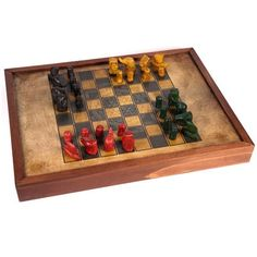 Chaturanga Game Board by buxaina on Etsy, $55.00