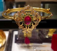 Jewellery Designs: Baby Arm Band in 22kt Gold