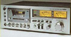 Stereo Cassette Deck AD-6550; Aiwa Co. Ltd.; Tokyo