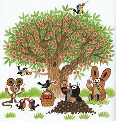 (2014-07) Muldvarpen spiser kirsebær med musene, fuglene og haren
