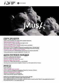 L'ora del Musa: un calendario ricco di appuntamenti per conoscere il Museo che espone i tesori dell'Accademia di Belle Arti di Perugia