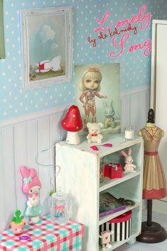my photo. diorama, dollhouse, miniature, mark ryden,