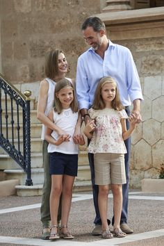 You'll Be Obsessed With These Adorable Pictures of the Spanish Royal Family