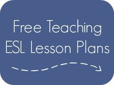 ESL Lesson Plans -         Repinned by Chesapeake College Adult Ed. We offer free classes on the Eastern Shore of MD to help you earn your GED - H.S. Diploma or Learn English (ESL) .   For GED classes contact Danielle Thomas 410-829-6043 dthomas@chesapeake.edu  For ESL classes contact Karen Luceti - 410-443-1163  Kluceti@chesapeake.edu .  www.chesapeake.edu