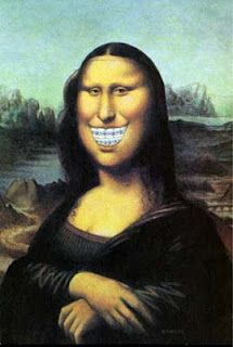 Mona Braces. HAHAHA! would be a funny picture in the office