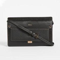 Furla Mini Leather Black Like Crossbody Bag - 30% Off