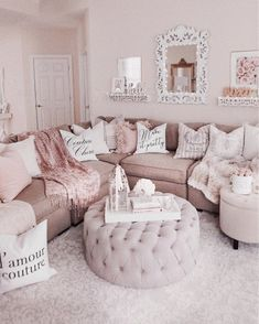 Personalize your home decoration with pretty digital printables. Cheap Living Room Sets, Home Living Room, Apartment Living, Living Room Designs, Living Room Decor, Shabby Chic Living Room Furniture, Shabby Chic Apartment, Home Interior, Interior Plants
