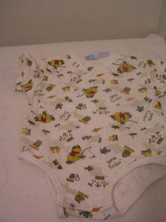 Disney Baby Undershirt Romper 3-6 months Winnie The Pooh Gone Fishin  #DisneyBaby #Everyday