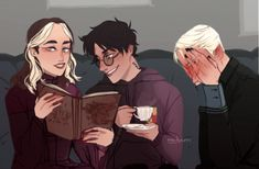 Mostly Drarry. Some Wolfstar. My l Drarry Fic Rec Masterlist Use whatever pronouns you want. Do-er of a million things. Harry Potter Anime, Harry Potter Comics, Fanart Harry Potter, Arte Do Harry Potter, Harry Potter Puns, Harry Potter Draco Malfoy, Harry Potter Drawings, Harry Potter Ships, Harry Potter Characters