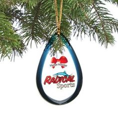 Custom Shatterproof Holiday / Christmas Ornament / Charm / Tag (Double Sided) from 8.1 - 9 Sq. In.