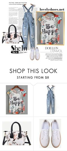"""""""SheIn 1/VIII"""" by hedija-okanovic ❤ liked on Polyvore featuring shein"""