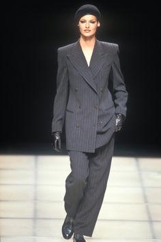 Beverly Peele, Niki Taylor, V Cute, Carla Bruni, Linda Evangelista, Christy Turlington, Atelier Versace, Winter Collection, Gender Female