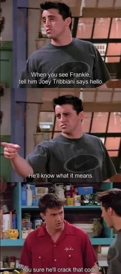 picture will haunt my dreams in the very best way. The 33 Best Chandler Bing One-Liners. i learned my sarcasm from the bestThe 33 Best Chandler Bing One-Liners. i learned my sarcasm from the best Friends Scenes, Friends Moments, Friends Show, Friends Forever, Chandler Friends, Joey Friends, Friends Cast, Friends Season, Friends Image
