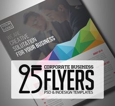 25 Professional Corporate Flyer Templates #flyerdesign #photoshopflyer #psdflyers #posters #businessflyer