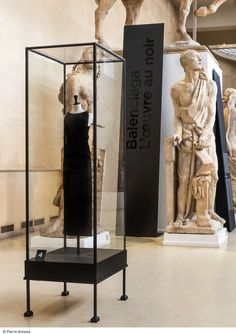 70 Balenciaga pieces are now on display at the Musée Bourdelle in Paris. Pierre Antoine