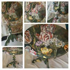Kringlooptafeltje Chair, Painting, Furniture, Home Decor, Art, Craft Art, Room Decor, Painting Art, Kunst