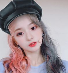 Criss Hallyu: ( : Selfies Part 143 Kpop Girl Groups, Korean Girl Groups, Kpop Girls, Korean Hair Color, Teen Celebrities, Hair Reference, Rainbow Hair, Korean Beauty, Ulzzang Girl