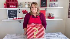 Can you guess what's in the mystery box. It has a kitchen tool and food item in the box. We are dedicated to teaching kids baking and cooking skills.