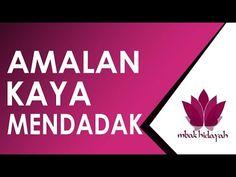 Amalan Kaya Mendadak Secara Islam - YouTube Doa Islam, Caption, Quran, Youtube, Blog, Instagram, Captions, Blogging, Holy Quran