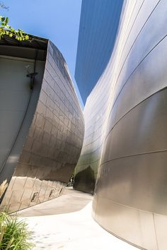 You MUST explore the upper level of the Walt Disney Concert Hall