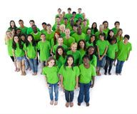Groups of people in green colour Stock Photo No Matter What Happens, Online Tests, Stay True, Be True To Yourself, Team Member, Royalty Free Photos, Green Colors, Envy, Personality