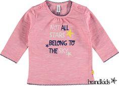 Babyface Longsleeve roze - Meisjes T-shirts lange mouw €17,95
