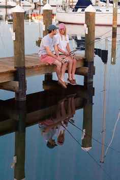 Anchored Style on dock
