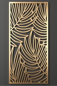 Decorative panel - One Decorative Metal Screen, Decorative Wall Panels, Laser Cut Panels, Laser Cut Metal, Jaali Design, Cnc Cutting Design, 3d Wall Tiles, Wooden Door Design, Grill Design