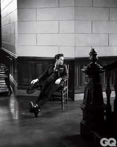 Taylor Kitsch Channels James Dean in Giant for GQ March 2012