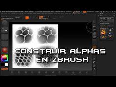 Tutorial Construir Mapas Alfa en Zbrush - YouTube
