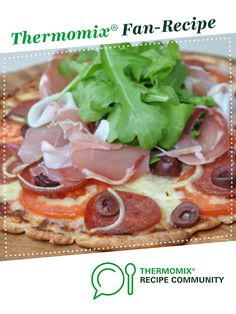 Recipe LCHF Fat Head Pizza by Thermo Foodie and the Chef, learn to make this recipe easily in your kitchen machine and discover other Thermomix recipes in Main dishes - others. Low Carb Recipes, Cooking Recipes, Healthy Recipes, Healthy Food, Lchf, Thermomix Bread, Recipe Community, Food N, Recipes