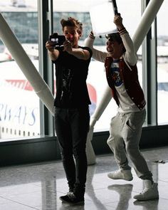 Niall & Louis