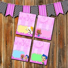 Bubble Guppies-Bubble Guppies Party by MyPrintableParty on Etsy