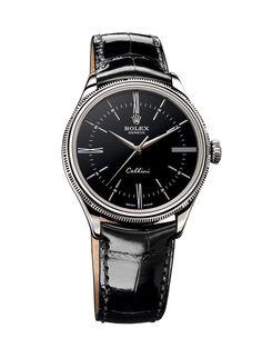 Rolex montre Cellini Time noir http://www.vogue.fr/vogue-hommes/montres/diaporama/horlogerie-montres-homme-all-black-cadran-noir/20709/image/1105553#!rolex-montre-cellini-time-noir