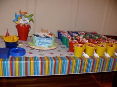 beach themed kids birthday party | Stylish Childrens Parties: Beach First Birthday Party