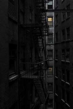 ♂ Darkness urban architecture stairs