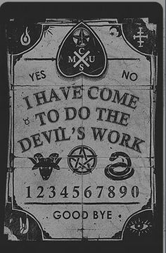 Not a real Ouija board, but nice for an altar, perhaps.