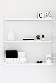MyDubio | Hema Tomado shelves | String shelves alternative