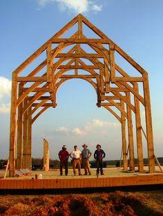 Holder Bros Timber Frame House