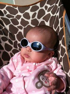 Sami in her Julbo USA Looping sunglasses