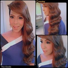 Vice Ganda wears Keira #hairextensions Vice Ganda, Hair Extensions, Celebs, How To Wear, Weave Hair Extensions, Celebrities, Extensions Hair, Celebrity, Extensions