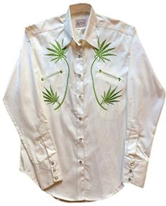 6a26f8422ba Rockmount Womens Cannabis Cowgirl Country Western Shirt at Amazon Women s  Clothing store