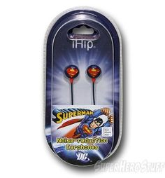 superman earphones