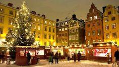 Mercadillo navideño Estocolmo