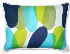 love the colors in this pillow