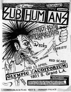 Subhumans...The day the country died