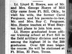 Lloyd Hoeye visits